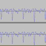 Streichfett Waveform Offset (close-up)