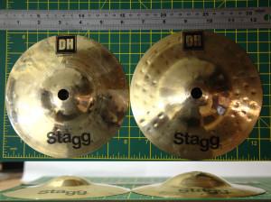 "Stagg DH 6"" splashes"