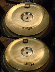 "Stagg DH 10"" Chinas"